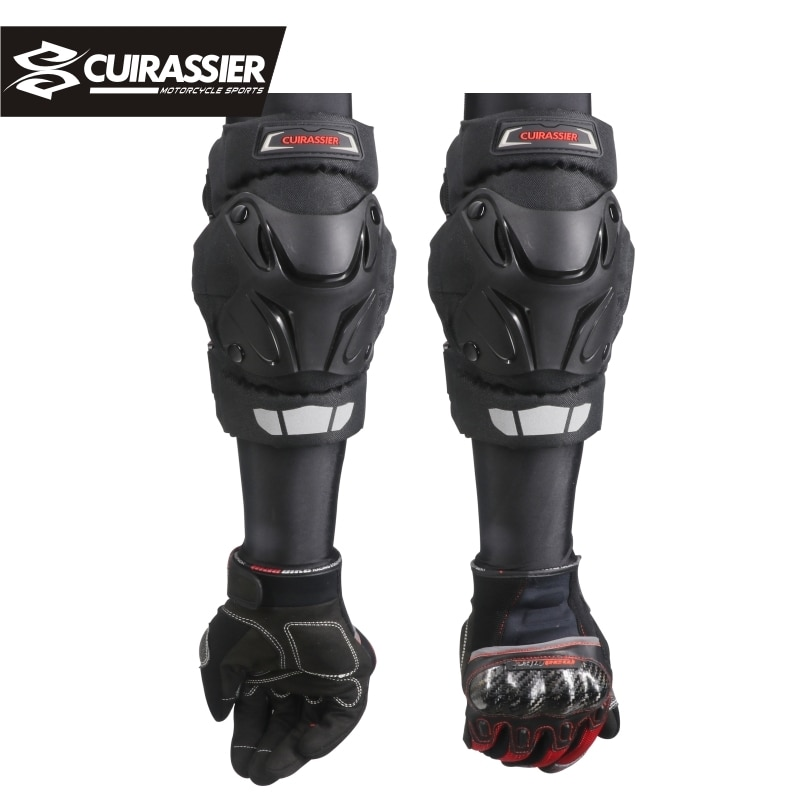 Knee protector Motocross Protection Motorcycle dirt bike Knee Pads Brace Protect Racing Guards Riding Off-Road Elbow Protection enlarge