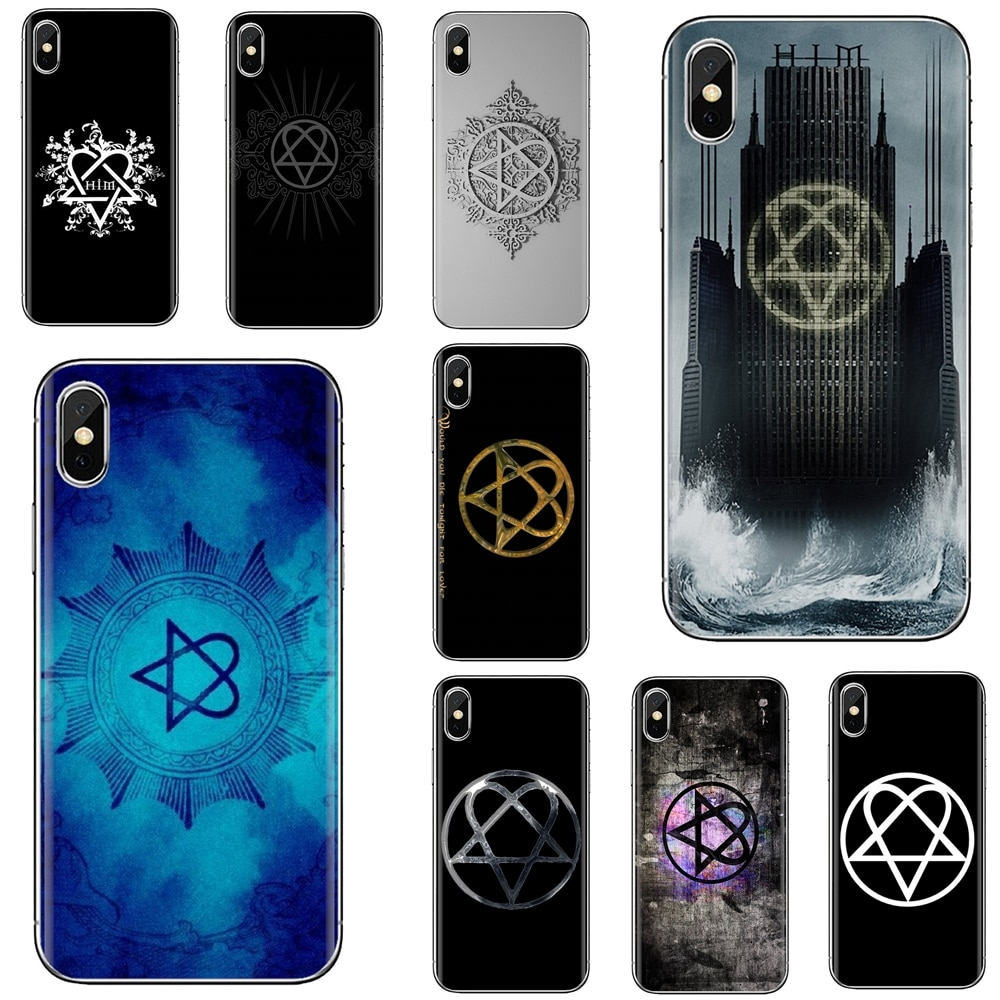 Soft Cover For iPhone iPod Touch 11 12 Pro 4 4S 5 5S SE 5C 6 6S 7 8 X XR XS Plus Max 2020 Him Hearta