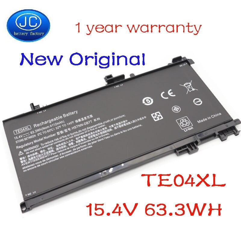 JC TE04XL batería de ordenador portátil para HP OMEN 15-AX200 15- AX218TX 15-AX210TX 15-AX235NF 15-AX202N 15-BC200 HSTNN-DB7T 905277-855
