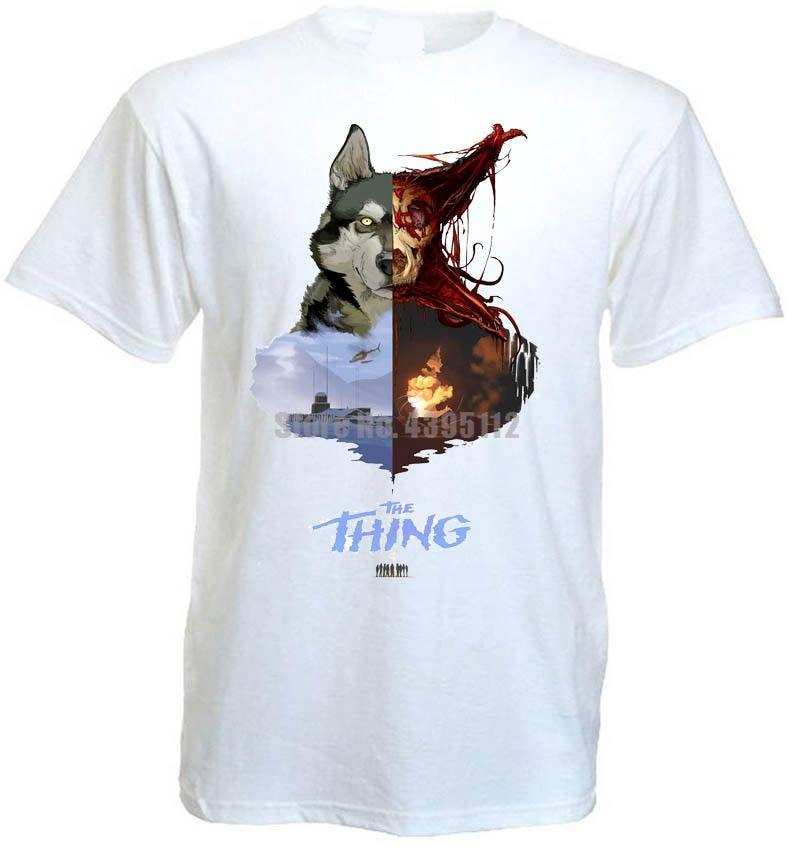 The Thing Movie Poster, мужские черные футболки, харкорные футболки ЛГБТ, простая рубашка, спортивная одежда, Vzlqsy