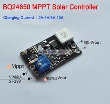 2A 4A 8A 10A BQ24650 MPPT contrôleur de panneau solaire batterie au Lithium Li-Ion LiFePO4 plomb acide charge DC 12V 24V Buck réglable