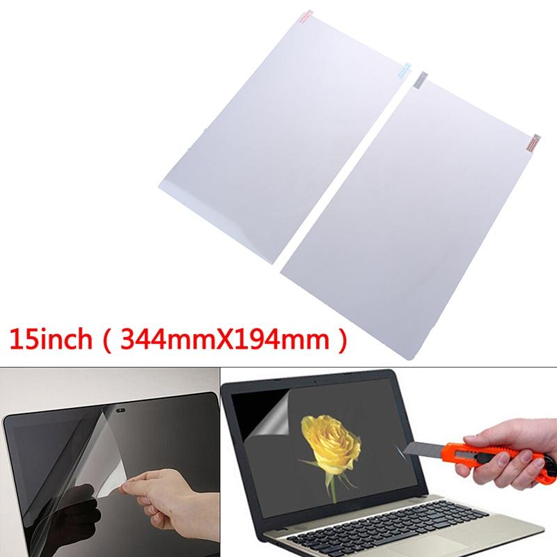 Ultra-delgada de película transparente Protector de pantalla cubierta del ordenador portátil de 15 pulgadas Protector de pantalla de ordenador portátil HD a prueba de arañazos