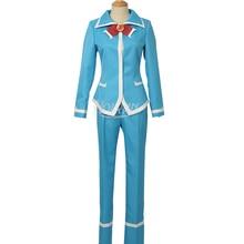 Campus anime Mairimashital iruma-kun cosplay costume Iruma Suzuki chemise pantalon nœud costume bleu école uniforme costume carnaval fête
