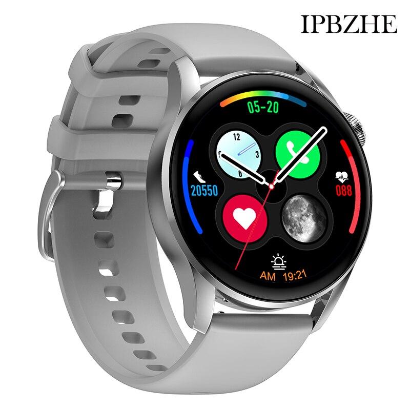 Ipbzhe Smart Watch Women Android Bluetooth Call Blood Oxygen Sport Smart Watch Men 2021 ECG SmartWatch For HuaWei Samsung Iphone