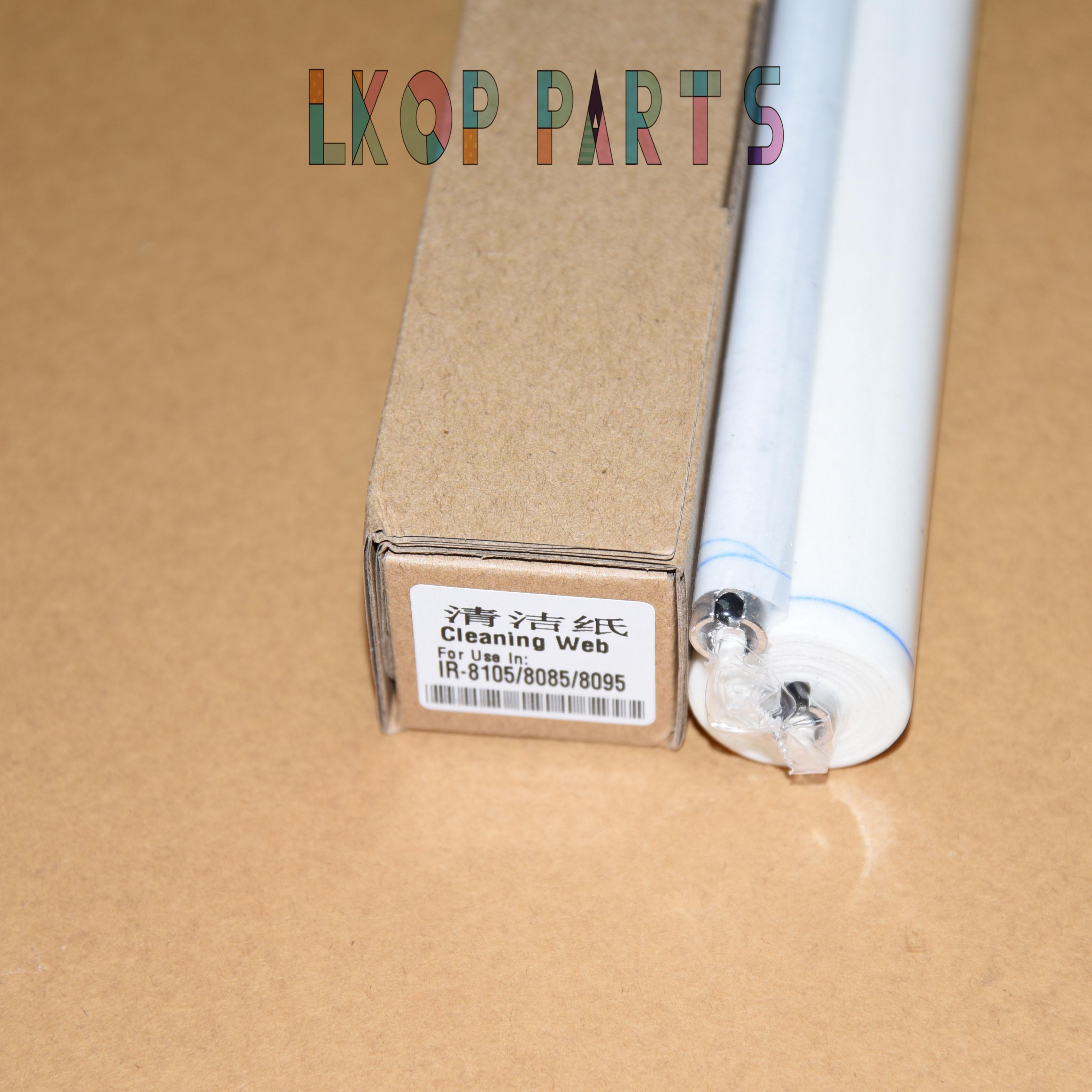 Web para Canon Limpeza Rolo Fusor Ir8095 Ir8105 Ir8205 Fc52286-000 Ir8285 ir Advance 8085 8095 8105 8205 8285 8295 2pcs Ir8085
