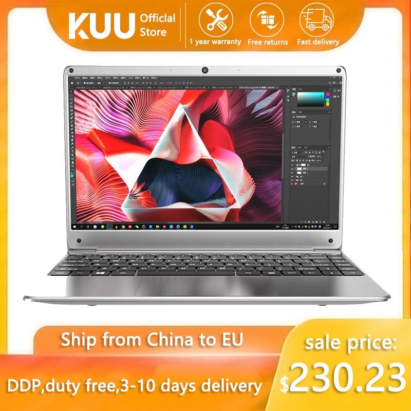 Laptop ultralight KUU KBook, 14.1'' FHD (1.920x1.080), Intel Celeron N3450, 6GB RAM, 128GB/256GB SSD HD Graphics 500 Window10