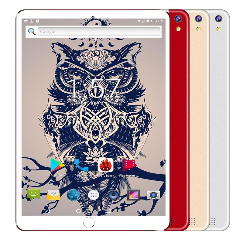 2021 New Google Play Android 8.0 OS 10 Inch Tablet Octa Core 6GB RAM 128GB ROM 1280*800 IPS 4G Call Phone Kids Tablets 10 10