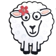 Построить Овцы металлические трафареты для пресс-формы Скрапбукинг альбом бумага Декоративные ремесло тиснение Новый 2019