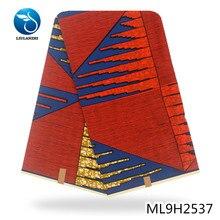 LIULANZHI الشمع الأفريقي الشمع الحقيقي النسيج أنقرة القطن الباتيك الشمع ل قماش نسائي ML9H2537-ML9H2557