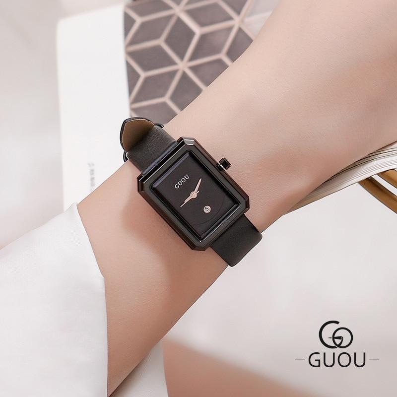 Small Dial Green Rectangle Women Watches Fashion Women Bracelet Quartz Watch Ladies Casual WatchWatch Drop Shipping zegarek dams enlarge