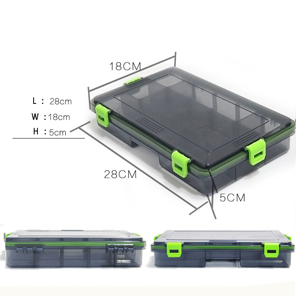 Fishing Box Accessories Lures Bait Case Winter Transparent Shrimp Boxes for Fishing Tackle Fish Baits Box enlarge