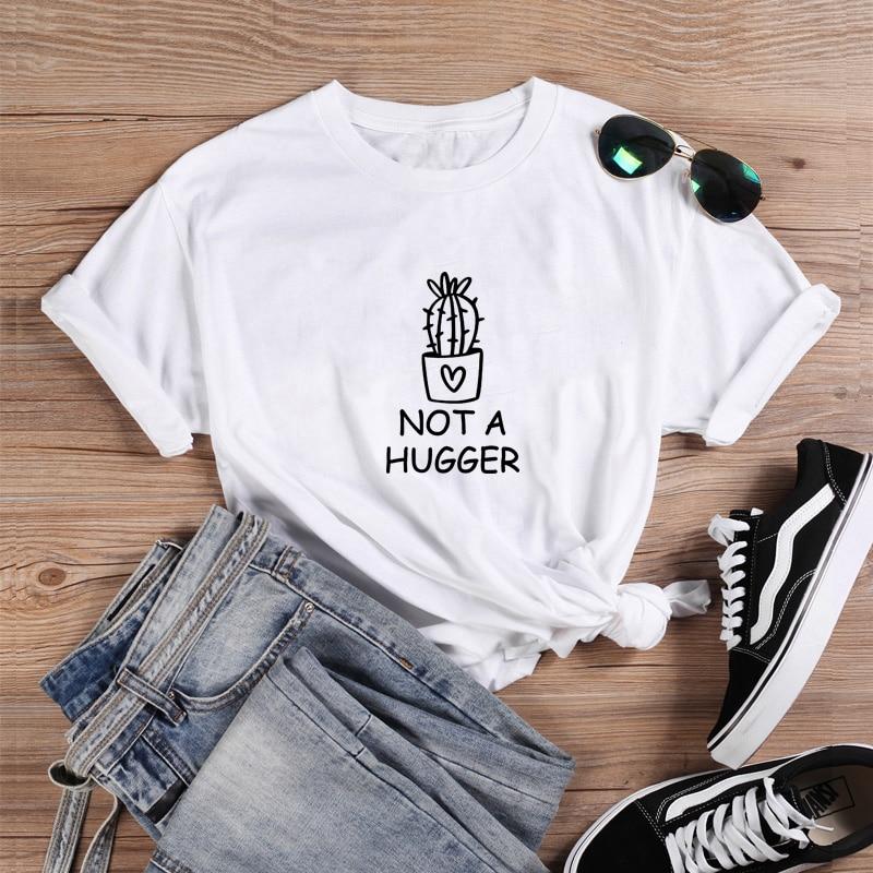 No es una camisa divertida T Shirt Camiseta de las mujeres Tops...
