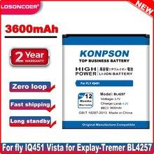 Batería de teléfono móvil BL4257 de 3600mAh para FLY IQ451 BL4257 Explay x-tremer Explay fresh Battery