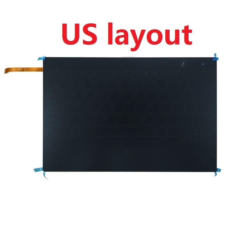 Neue US-Tastatur für Lenovo Yoga Buch YB1-X90L YB1-X90F Englisch Tastatur Montage
