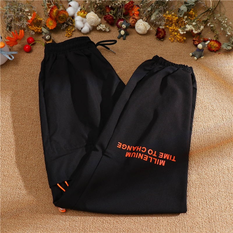 Real Sports Pants Female Autumn Thin Loose Tappered 20
