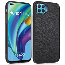 3 In 1 Luxury Leather Fitted Case for OPPO F17 Pro Phone Back Cover Lichi Style Full Protect Soft Ed