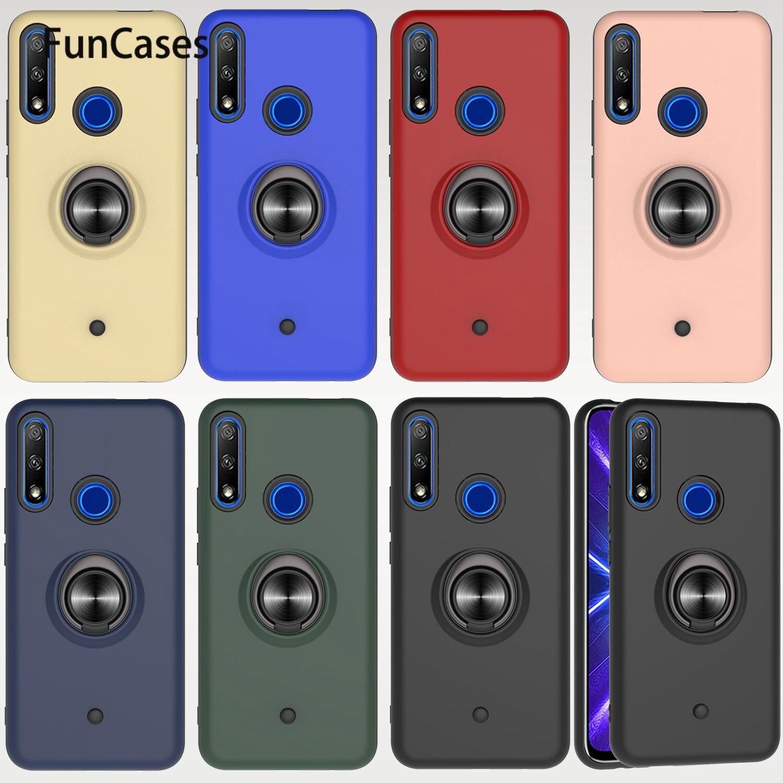 Магнитный автомобильный чехол с металлическим кольцом для Huawei Enjoy 9S Honor 10i 20i 20 Lite P Smart 2019 8A 10 8S 9 9X 3 Pro, чехлы для телефонов