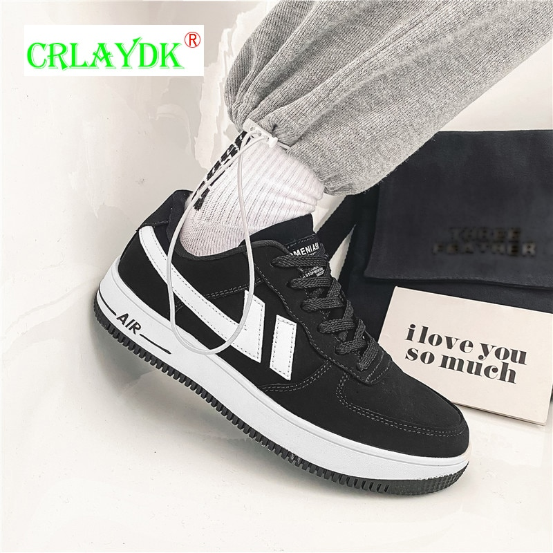 CRLAYDK موضة أحذية رياضية تنفس الجري في الهواء الطلق أحذية رياضية غير رسمية منصة المدربين الفتيان Zapatillas Deportivas Hombre