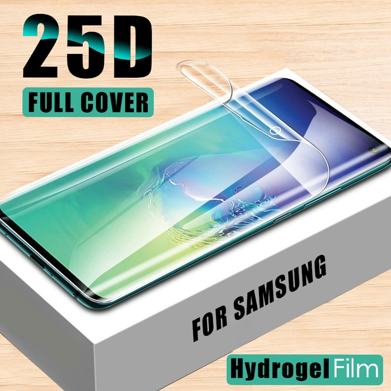 25D Screen Protector For Samsung Galaxy S10 S9 S8 Plus S10 E Note 9 8 Protect Soft Hydrogel Film For