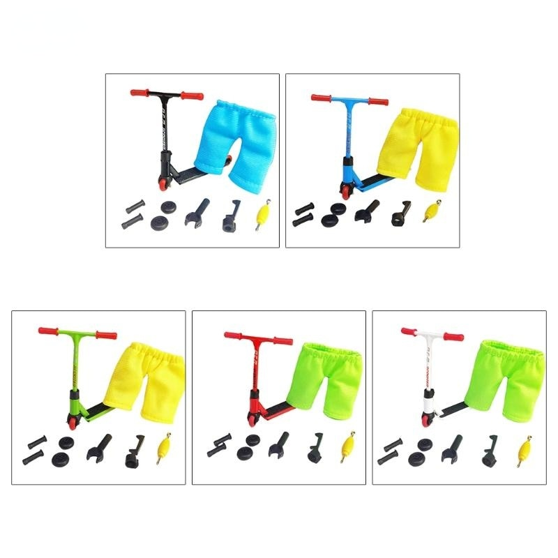Stunt Scooter Toy Mini Finger Training Toys Interactive Training Mini Finger Set neje dg0006 1 mini finger touch drums set musical toy silver black