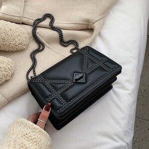 Personalized women's bag 2020 new Korean fashion casual wild chain single shoulder messenger small square bag