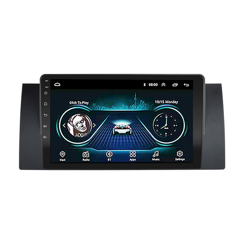 Reproductor Multimedia para BMW E39, E53, X5, M5, 1999, 2000, 2001, 2002, 2003, con WIFI, estéreo, GPS, 2 din, android