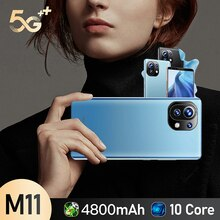 M 11 Cell Phones Unlocked For Sale Smartphone Android 10 4g Mobile Phones 5g Android 10 Telephone 5.
