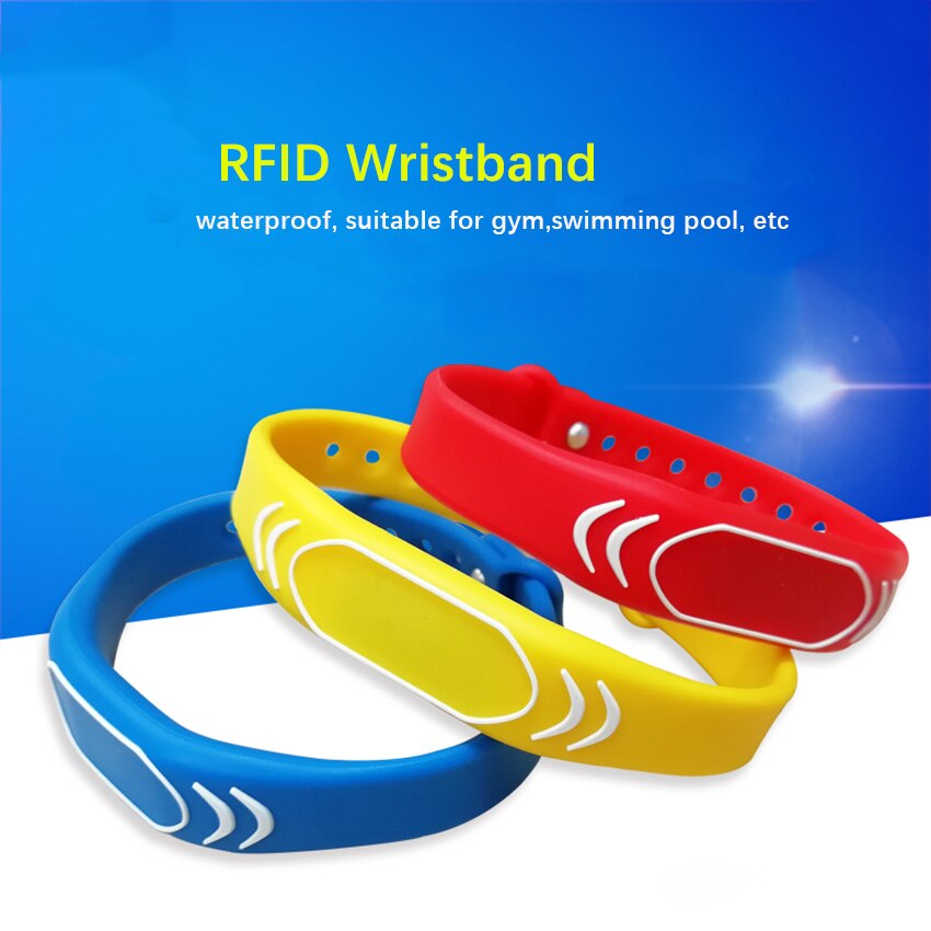 Фото - 1PC 125khz EM4100 Read Only RFID Adjustable Smart Wristband, Access Control Card Wrist band Bracelet Tag,Can Be customized LOGO be only