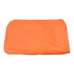 Swimming Pool Floating Bean Bag Cover Waterproof Reading Relaxing Soft Lounge Chair Sofa Orange