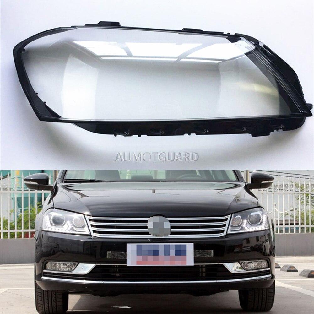 Автомобильные фары объектив для Volkswagen VW Magotan / Passat B7L 2012 2013 2014 2015 12-15 Автомобильные фары объектив Авто крышка оболочки