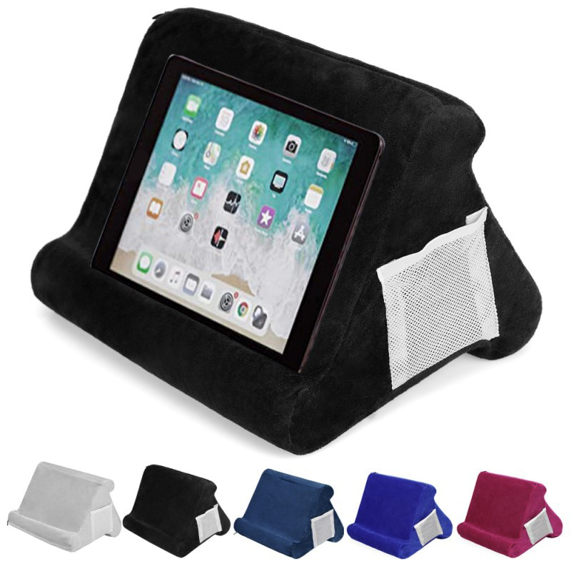 Tablet Pillow Holder Multifunctional Laptop Stand Holder Stand Pillow Holder for iPads Tablet Smartphones Rest Cushion for Ipad