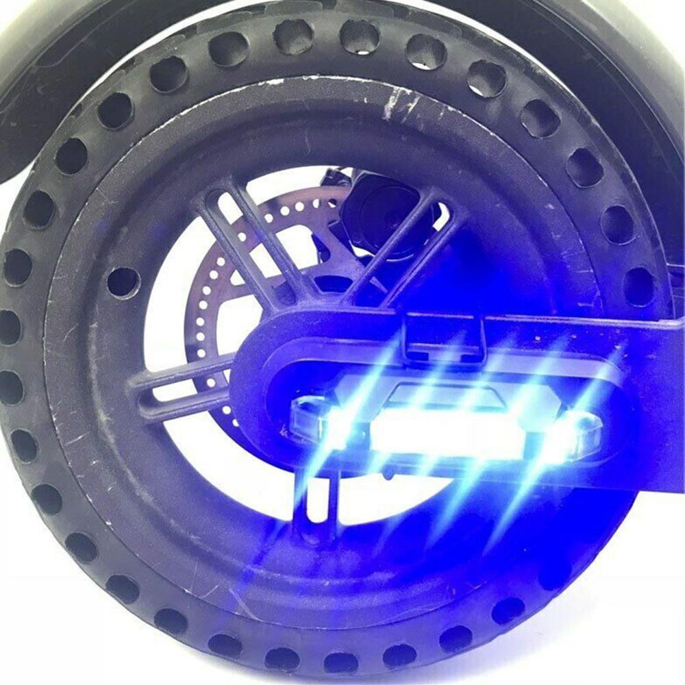 Tira de luces Led de advertencia, tira de luces para scooters eléctricos Xiaomi Mijia M365, accesorios de luz de seguridad para ciclismo nocturno