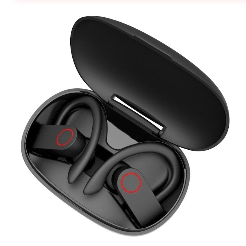 Bluetooth Ear Phone Real Wireless Earrings 8-Hour Music Bluetooth 5.0 Wireless Headphones Waterproof Sports Headphones enlarge