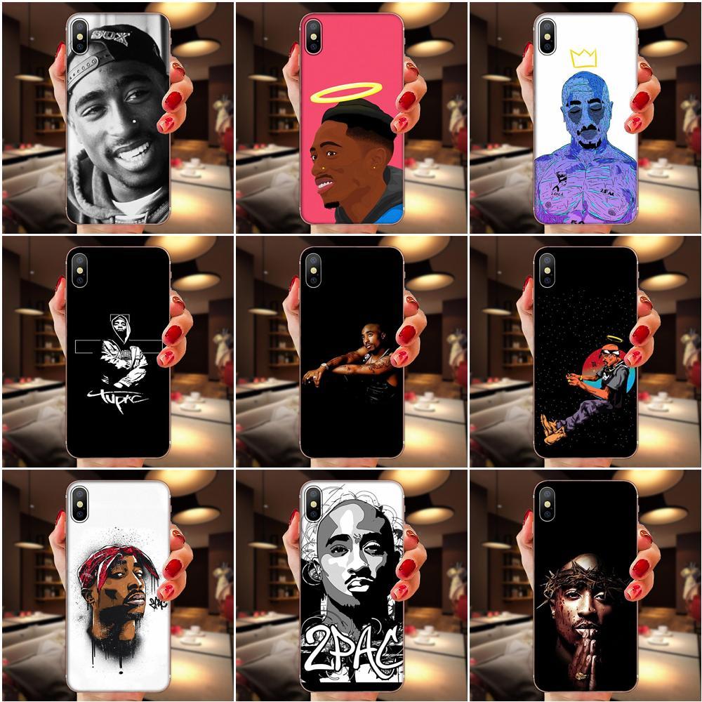 2pac Tupac Crown 2 Pac Rap For Samsung Galaxy A51 A71 A81 A90 5G A91 A01 S11 S11E S20 Plus Ultra Soft Transparent Cover