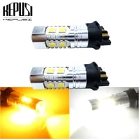 2x canbus pwy24w pw24w led bulbs for audi a3 a4 a5 vw mk7 golf cc ford fusion front turn signal lights daytime running lamps