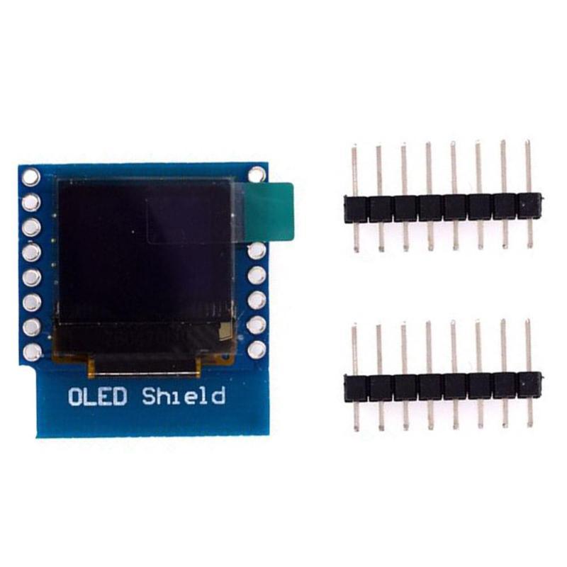 HW-375 0,66 pulgadas Módulo de pantalla OLED 3,3 V módulos para WEMOS D1 MINI 64x48 CII/I2C LCD pantalla