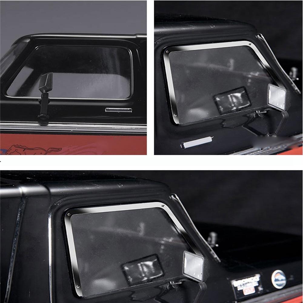 All Metal 4pcs Side Window Frame+1pcs Rear Window Frame For 1:10 TRAXXAS TRX-4 TRX4 Ford Bronco RC Car Parts