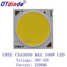 2PCS Cree CXA3050 CXA 3050 100W Ceramic COB LED Array Light EasyWhite 5000-5500K 36-42V 2500mA