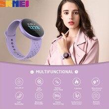 SKMEI Frauen Smart Uhr 12 sprachen Herz Rate Weiblichen Periode Erinnerung Schönheit Smart armband Calorie Sport Uhren Uhr B36