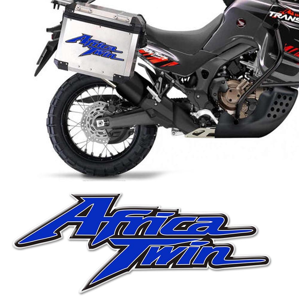 Para Honda África pegatinas de motocicleta tanque Pad Twin AfricaTwin Adventure Sports ES Protector de Panel lateral carenado calcomanía CRF1000 L