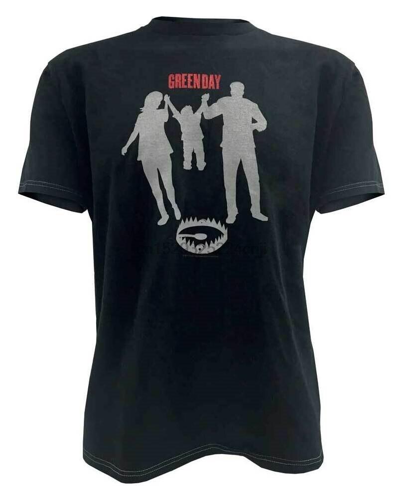 Green Day Mens Parents Kid  Bear Trap Tee T-Shirt Black. GreenDay-Beartrap