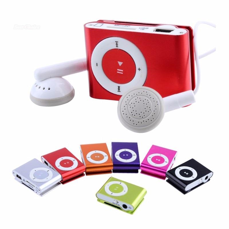 Portable Mini  P3 Music Player No Screen  Screen Support 32GB Micro SD TF Card Sport Music Player Wa