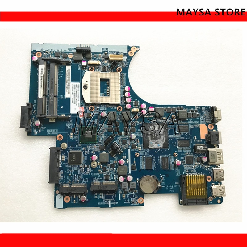 Placa base de ordenador portátil para Hasee para Clevo FOR God of War w650SJ 6-77-W650SJ00-D02-7 placa base 6-71-w65J0-d02 DDR3 100% probado OK