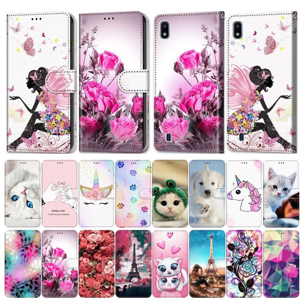 Flip Phone Cover For Case Samsung Galaxy A50 A500 A510 A520 A5 2015 2016 2017 Girl Boy Phone Bags Lo