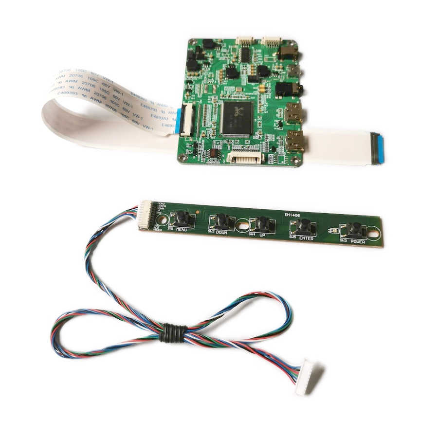 لوحة تحكم للكمبيوتر المحمول ، طقم لوحة تحكم للكمبيوتر المحمول ، شاشة كمبيوتر محمول EDP 5V micro USB power 30-Pin 1920*1080 2-mini ، LM140LF1L/LM140LF2L/LM140LF3L