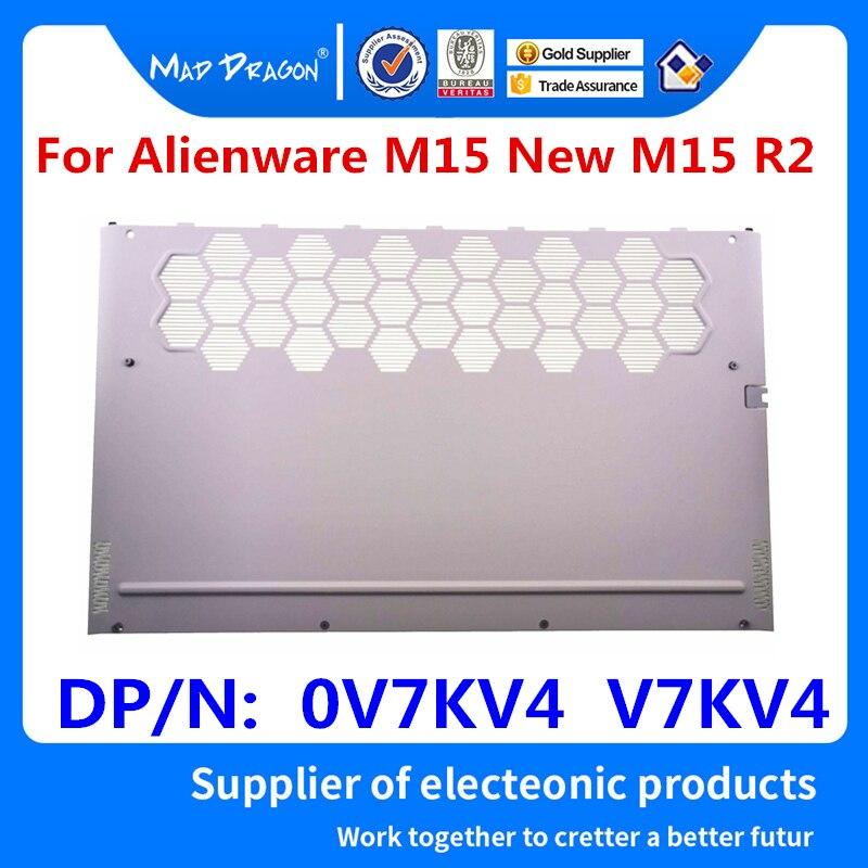Новинка, оригинальная белая задняя крышка для ноутбука, нижняя база, дверь для доступа E, оболочка для Dell Alienware M15 New M15 R2 0V7KV4 V7KV4 AM2KH000P11