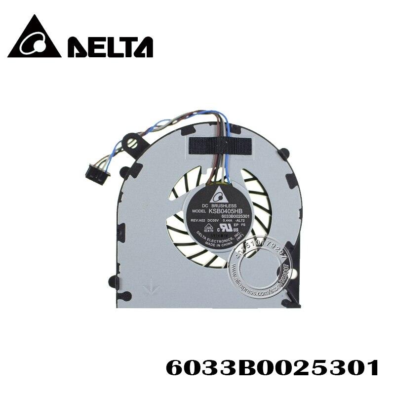 Nuevo ventilador KSB0405HB-AL72 6033B0025301 5V 0.44A ventilador de refrigeración de la CPU