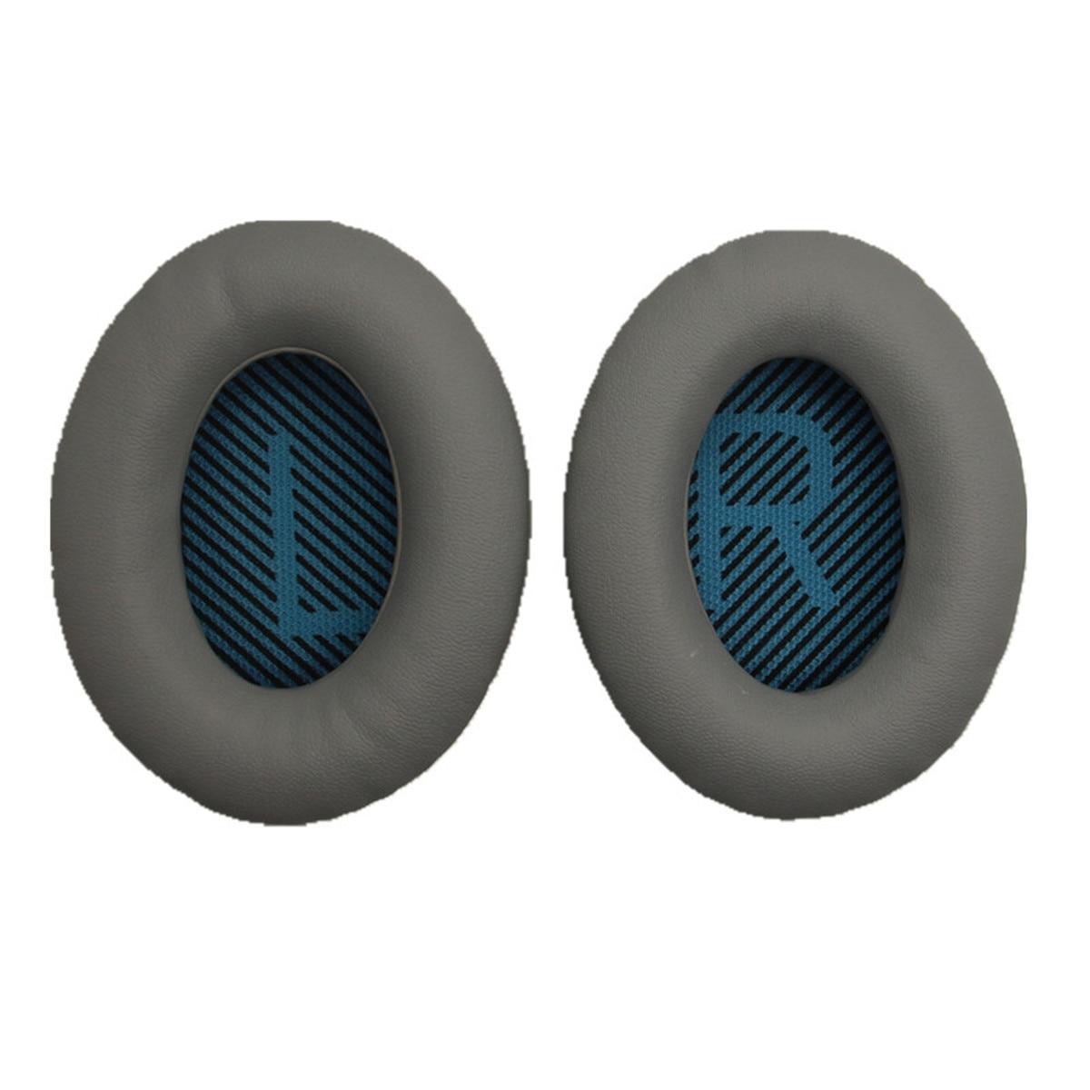 De cuero proteico Almohadillas para oreja de espuma cojines para Bose Quietcomfort...