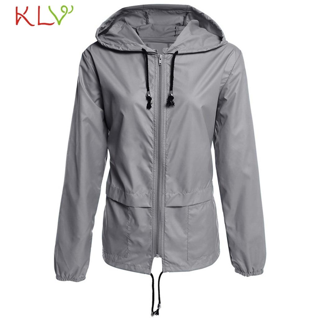 Kurtka damska 2019 wodoodporna kurtka wiatrówka z kapturem płaszcz Outdoor odzież turystyczna lekki płaszcz przeciwdeszczowy damski płaszcz przeciwdeszczowy 19Aug