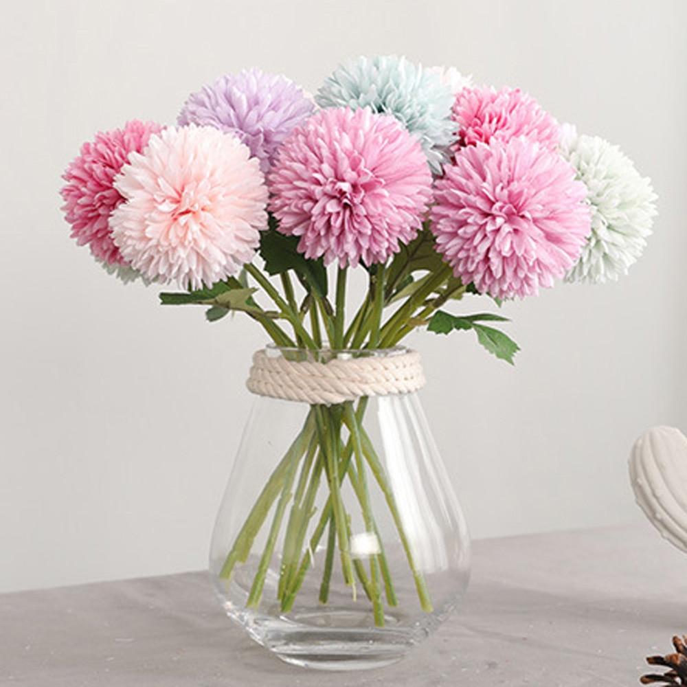 Flor de seda, mamá china, flor rara perenne, planta de crisantemo, mezcla de colores, flor Artificial de seda
